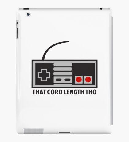 NES Nintendo Classic Edition Mini Controller Cord Length Tho iPad Case/Skin