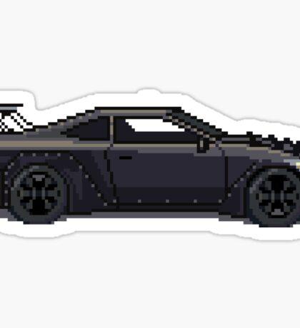 SavageWorks Infiniti G35 - Spaceship - Pixel Car Sticker