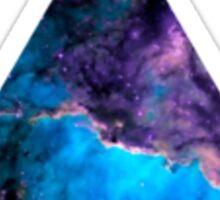 Nebula Triangle. Sticker