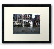 Transparent Reflections Framed Print