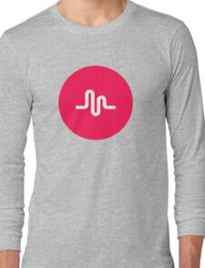 Musically Logo Premium Quality Long Sleeve T-Shirt