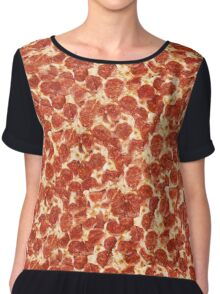 Pizza. Just Pizza. Chiffon Top
