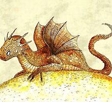 Dragon hoard by djrbennett