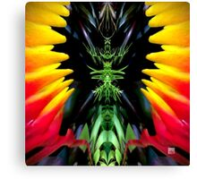 Tropical Kaleidoscapes 2 Canvas Print