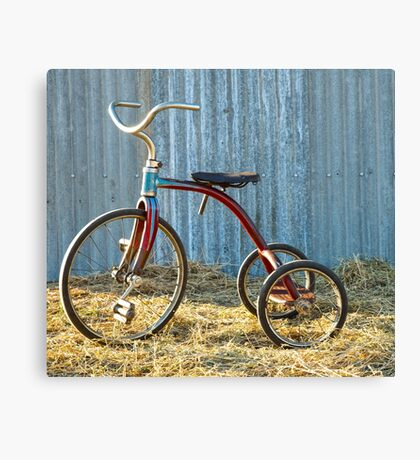 Lovely Little Tricycle.... Canvas Print