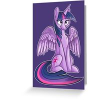 Twilight Sparkle  Greeting Card
