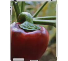 Red Cap iPad Case/Skin