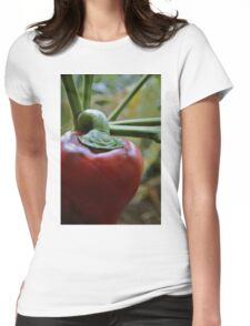 Red Cap Womens Fitted T-Shirt