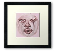 Washed in Earth Tones Framed Print
