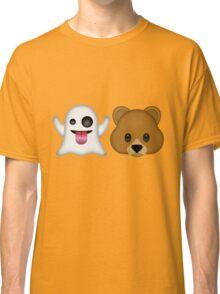 Ghost Bear 53 Emoji Classic T-Shirt