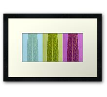 Lough Gill abstract Framed Print