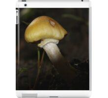 Yellow Capped Mushroom iPad Case/Skin