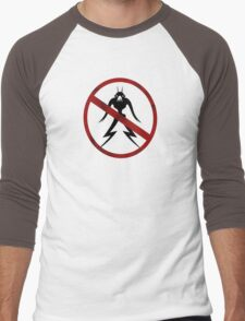 Humans only Men's Baseball ¾ T-Shirt