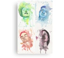 Passion 1 to 4 Collage  Canvas Print