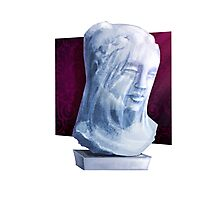 Ghostly Bust - Mystery Series Photographic Print