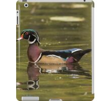 Male Wood Duck - Mud Lake iPad Case/Skin
