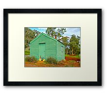 Home at last ... Framed Print