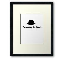 Godot Framed Print