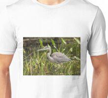 Great Blue Heron - Mud Lake, Ottawa, Canada Unisex T-Shirt