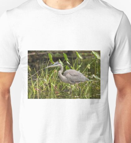 Great Blue Heron - Mud Lake, Ottawa, Canada Unisex T-Shirt
