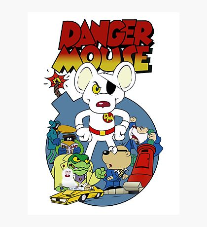 Danger Mouse Photographic Print
