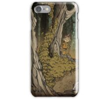 Daimon in the wood iPhone Case/Skin