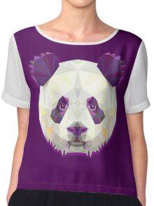 Panda Bear Animals Chiffon Top