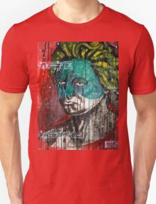 pop art Beethoven abstract ink painting  T-Shirt