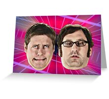 Tim and Eric Awesome Show Greeting Card