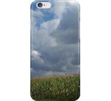 Crops and Clouds iPhone Case/Skin