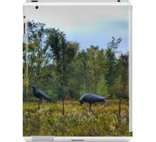 """""""3 Crows in Field"""" -1999-2001 Steel iPad Case/Skin"""