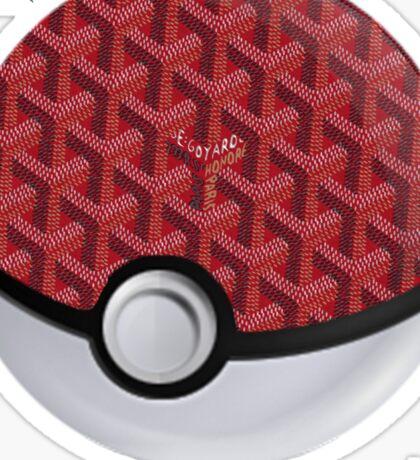 Goyard Pokeball  Sticker