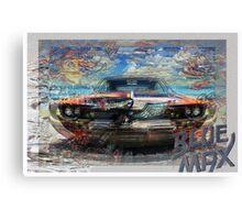 Blue Max Canvas Print