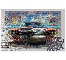 Blue Max Photographic Print