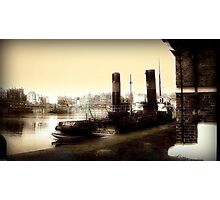 Ship Canal circa 1910 Photographic Print