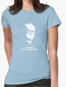 I NEED MY JOHNSON ARCHITECTURE T SHIRT Womens Fitted T-Shirt