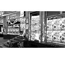 urban street photo Photographic Print