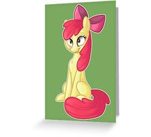 Apple Bloom Greeting Card