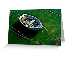 Roped in! Greeting Card