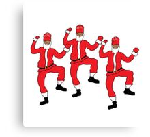 Dancing Santa - Juju on Dat Beat Canvas Print