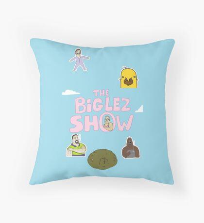 The Big Lez Show  Throw Pillow