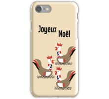 3 French Hens iPhone Case/Skin