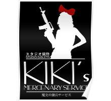 Kiki's Mercenary Service Poster