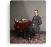 Thomas Edison, 1878 Metal Print