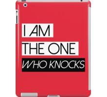 BREAKING BAD HEISENBERG I am the one who knocks! iPad Case/Skin