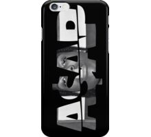 Asap iPhone Case/Skin