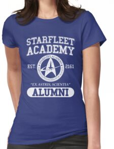 Starfleet Academy - Command DIvision Womens Fitted T-Shirt