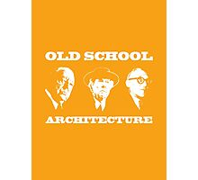 Old School Architecture t shirt Photographic Print