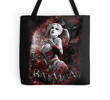 Batman Arkham City Harleyquinn Tote Bag