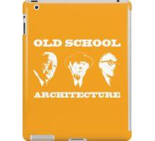 Old School Architecture t shirt iPad Case/Skin